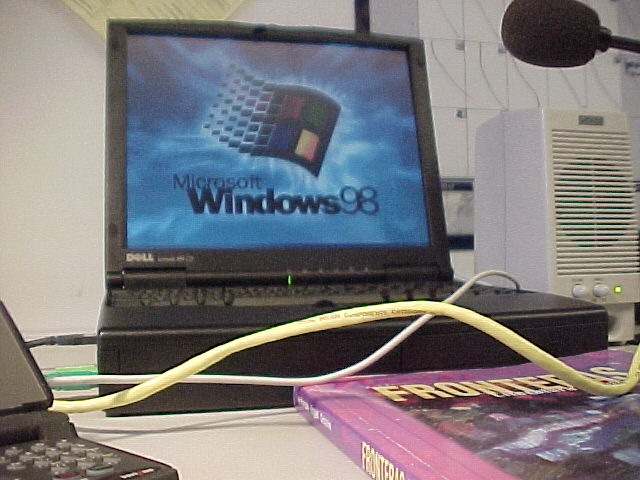 2002, running Windows 98, this was right before I first installed Redhat Linux...